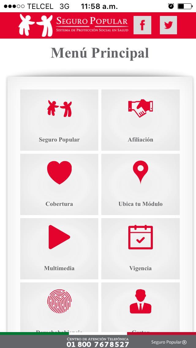 Ofrece Seguro Popular Chihuahua App Gratuita Para Consultar
